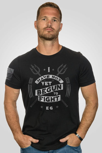 Men's T-Shirt - I Have Not Yet Begun
