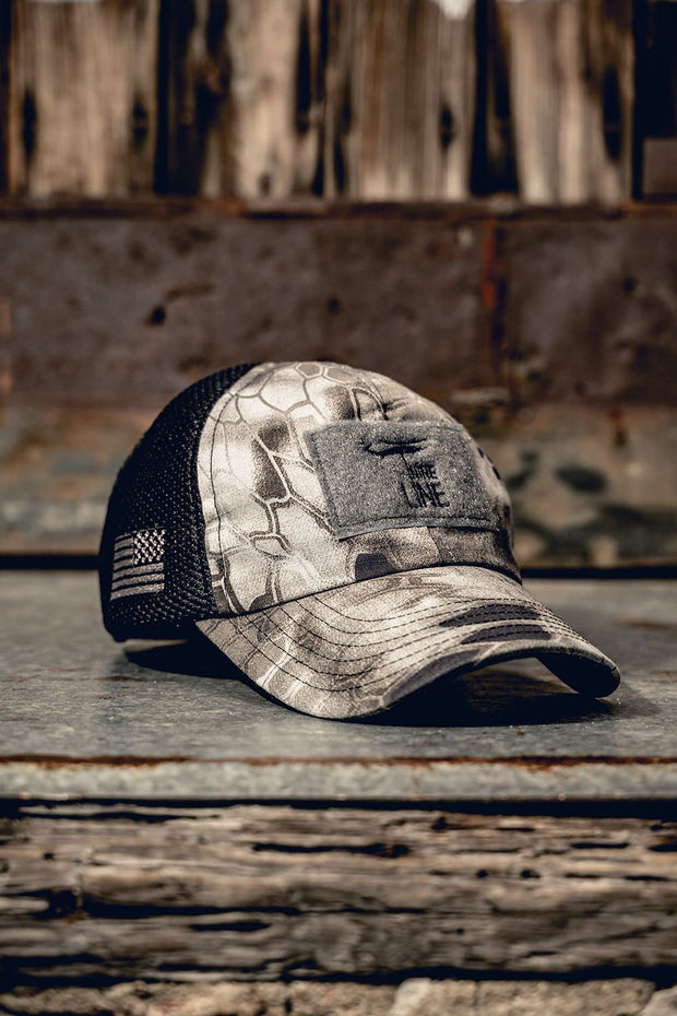 Kryptek American Made Mesh Back Hat with Drop Line