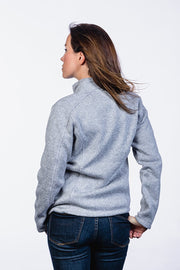 Women's Knit Jacket - Drop Line