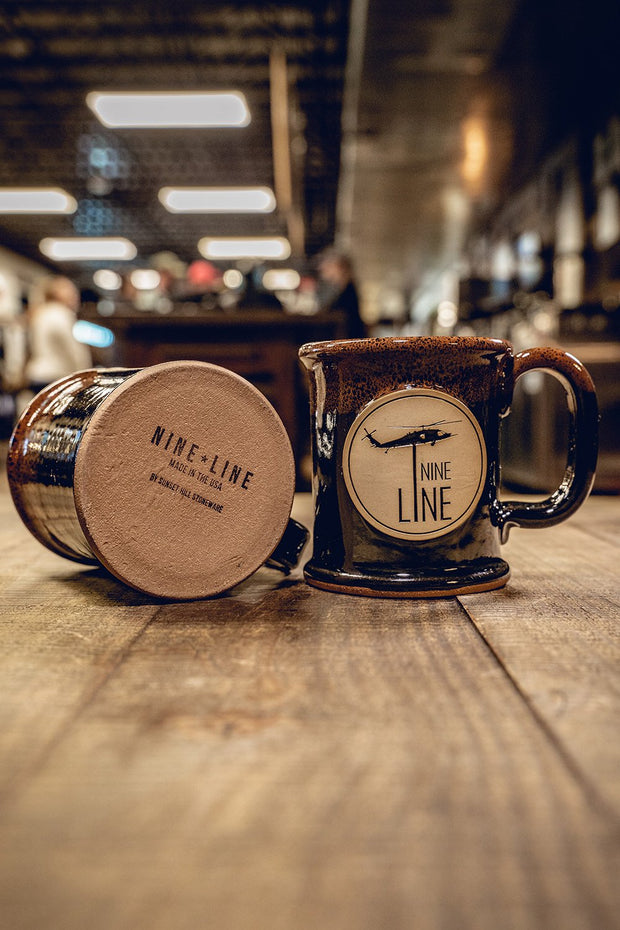 Nine Line Ceramic Executive Mug