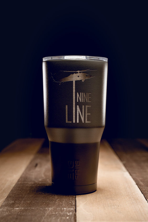 Laser Etched BF 30 oz Tumbler - Drop Line