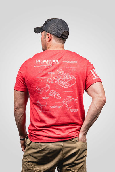 Seasonal Men's T-Shirt - Fisherman's Schematic
