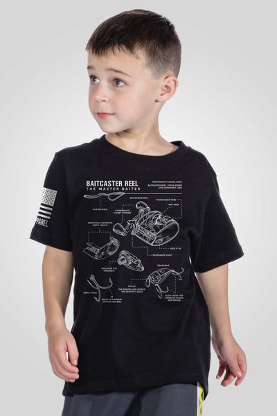Youth T-Shirt - Fisherman's Schematic