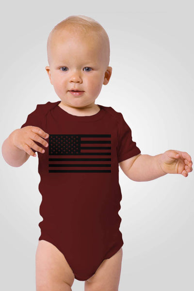 Onesie for Toddlers - American Flag