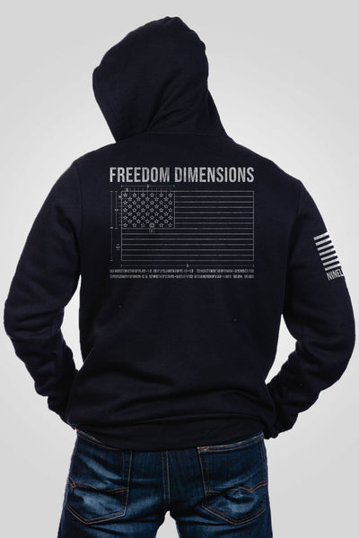 Men's Full-Zip Hoodie - Freedom Dimensions