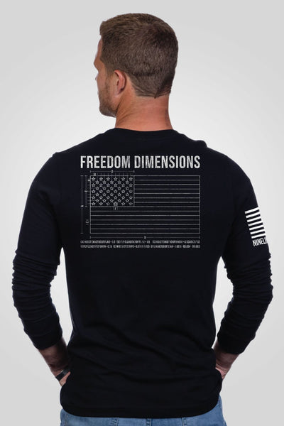 Men's Long Sleeve - Freedom Dimensions