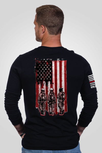 Men's Long Sleeve - Firefighters