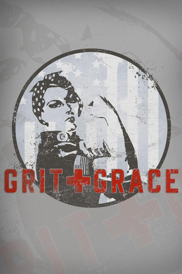 Women's Racerback Tank - Grit and Grace