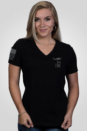 Women's Relaxed Fit V-Neck Shirt - Grit and Grace