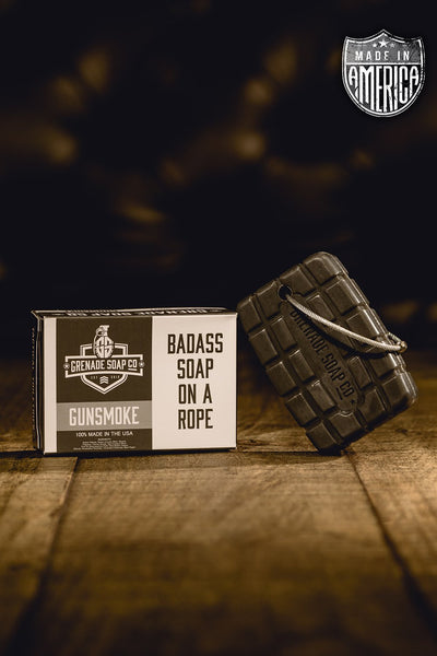 Grenade Soap Co - Gunsmoke Soap