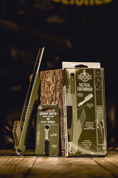 Grenade Soap Co - Tactical Toothbrush