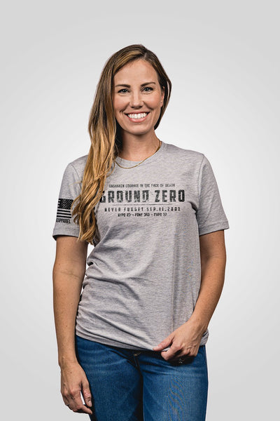 Seasonal Boyfriend Fit T-Shirt - Ground Zero