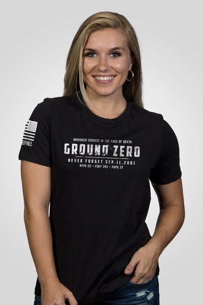 Women's Relaxed Fit T-Shirt - Ground Zero