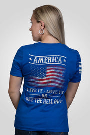 Women's Relaxed Fit T-Shirt - Get The Hell Out