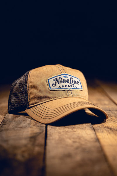 Classic Trucker Hat - Blue NLA Patch