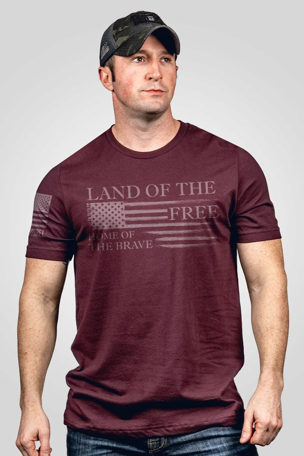Seasonal Men's T-Shirt - Home of the Brave