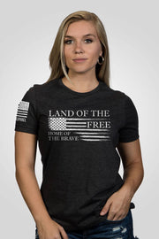 Women's Relaxed Fit T-Shirt - Home Of The Brave