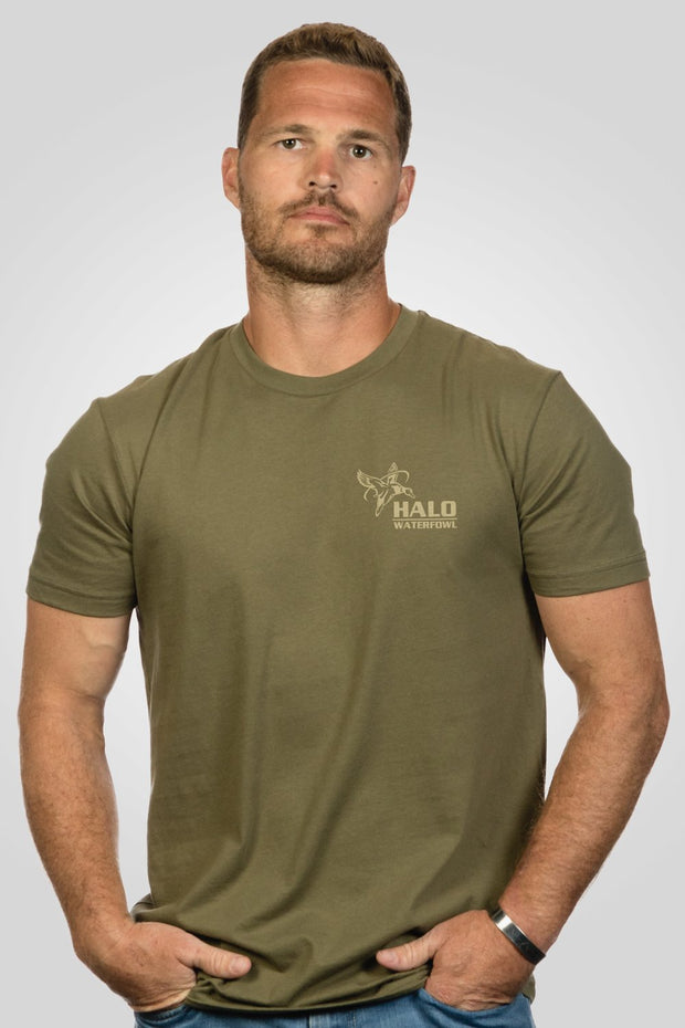 Men's T-Shirt - Halo Waterfowl Duck Call