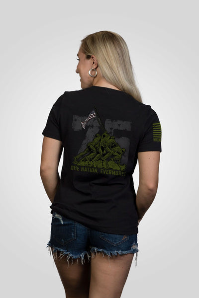 Women's Relaxed Fit T-Shirt - Iwo Jima 75th