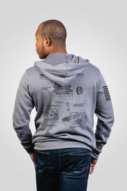 Men's Full-Zip Hoodie - The Adventurer [LTD]