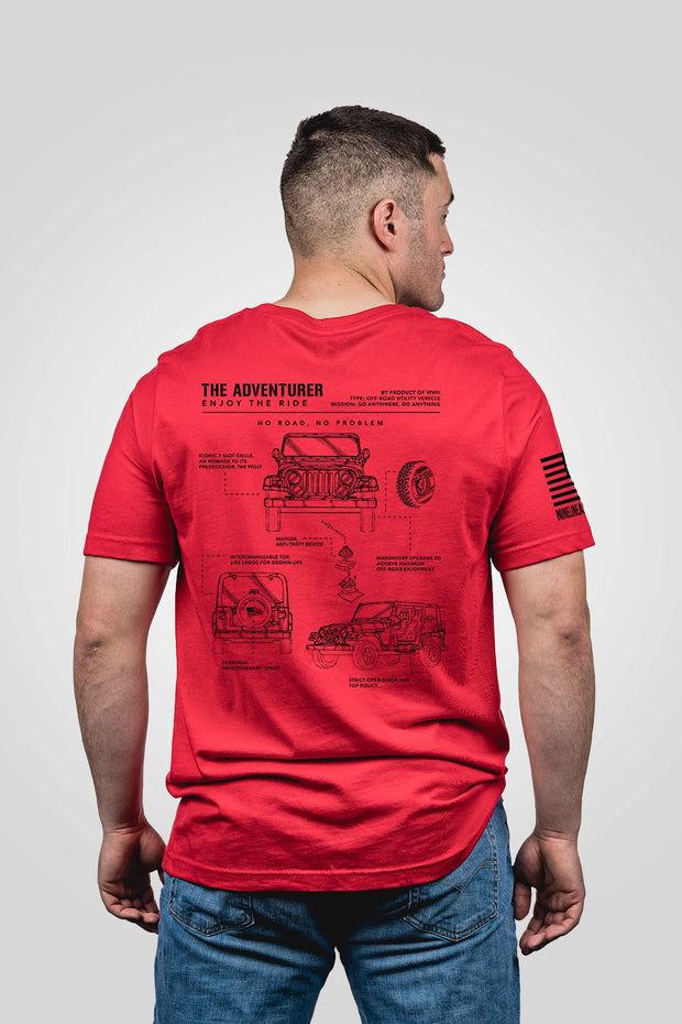 Men's T-Shirt - The Adventurer [LTD]
