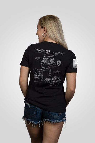 Women's Relaxed Fit T-Shirt - The Adventurer [LTD]