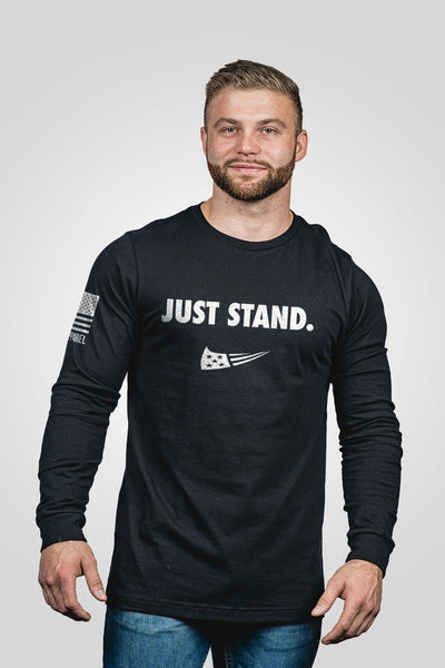 Men's Long Sleeve - Just Stand