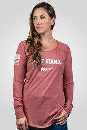 Women's Long Sleeve - Just Stand
