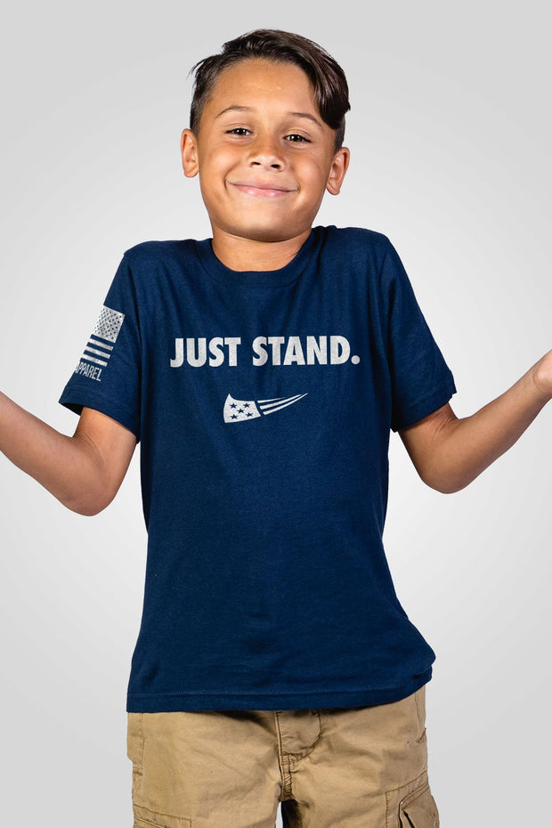 Youth T-Shirt - Just Stand