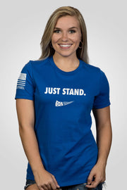 Women's Relaxed Fit T-Shirt - Just Stand