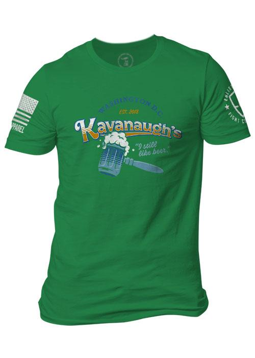 Enlisted 9 - Men's T-Shirt - Kavanaugh's St. Patrick's Day Edition