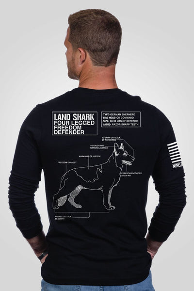 Men's Long Sleeve - Land Shark [LTD]