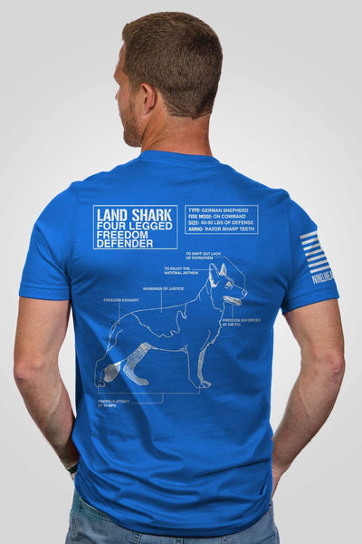 Men's T-Shirt - Land Shark [LTD]
