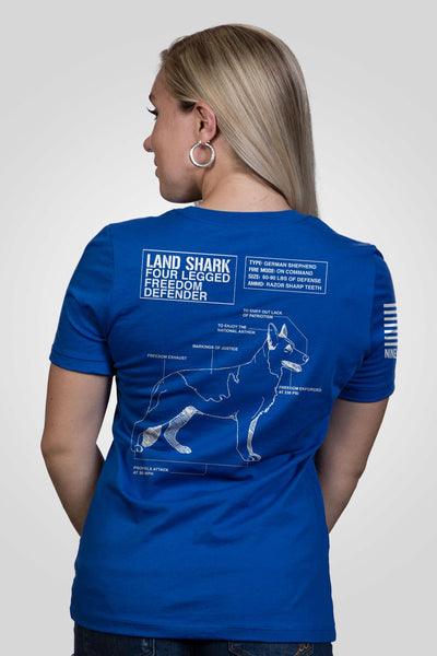 Women's Relaxed Fit T-Shirt - Land Shark [LTD]