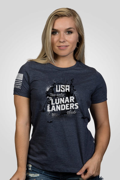Women's Relaxed Fit T-Shirt - Lunar Landers Club