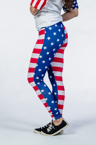 Women's American Leggings
