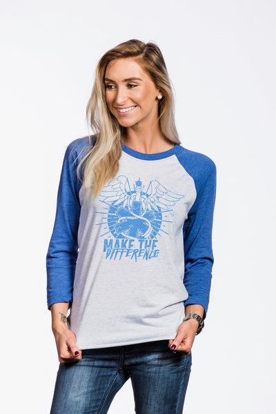 Women's Baseball Tees - Make The Difference