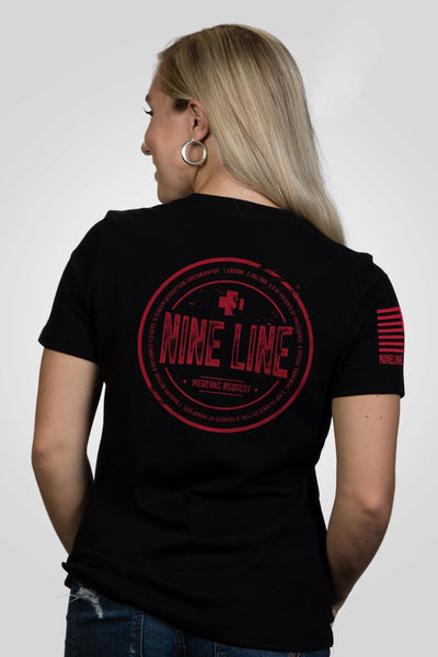 Women's Relaxed Fit T-Shirt – Nine Line Medevac [Patriots Club Exclusive]