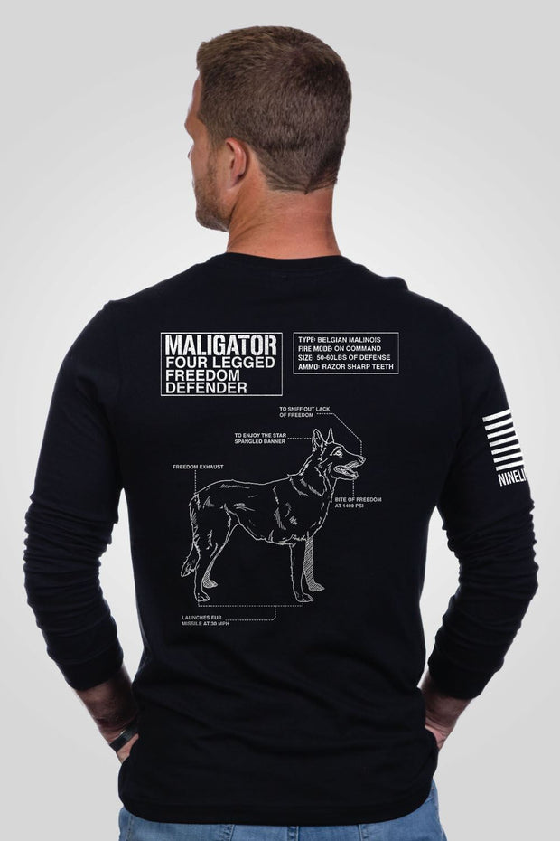Men's Long Sleeve - Maligator