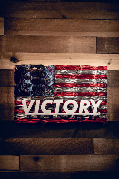 Molten Metal Sign - Victory
