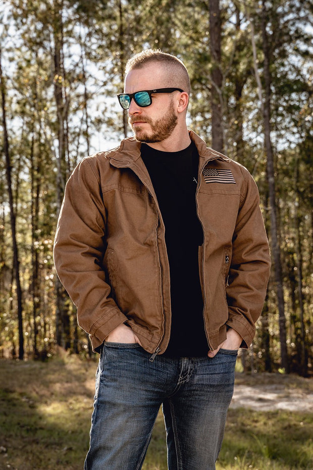 Lined Canvas Jacket