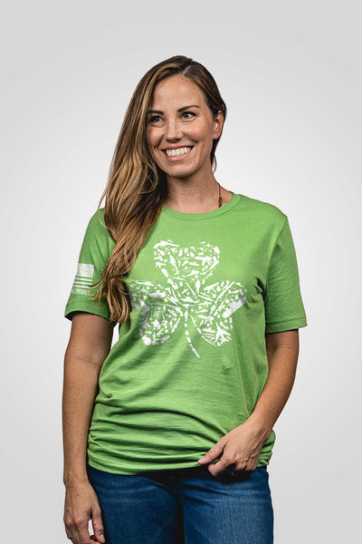 Boyfriend Fit T-Shirt - Nine Line Shamrock