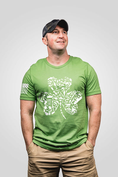Men's T-Shirt - Nine Line Shamrock