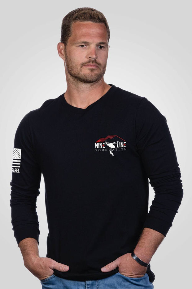 Mens Long Sleeve - No Man Left Behind