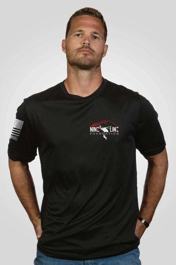 Moisture Wicking T-Shirt -No Man Left Behind