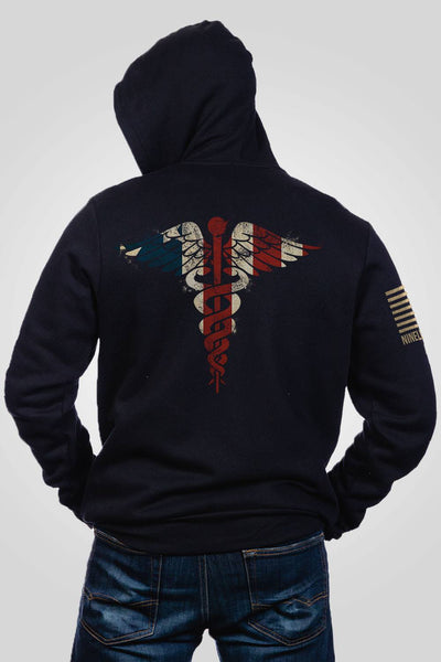 Men's Full-Zip Hoodie - Nurse Flag [LTD]