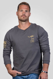 Men's Long Sleeve - Nurse Flag