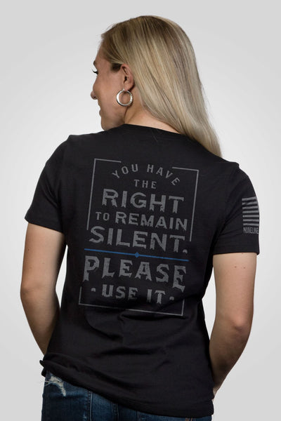 Women's Relaxed Fit T-Shirt - Officer Baker - Use It