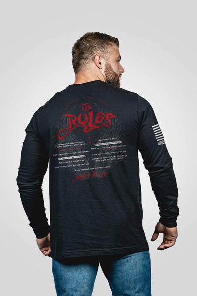 Men's Long Sleeve - Oz The Rules