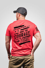 Seasonal Men's T-Shirt - Oz- Courage